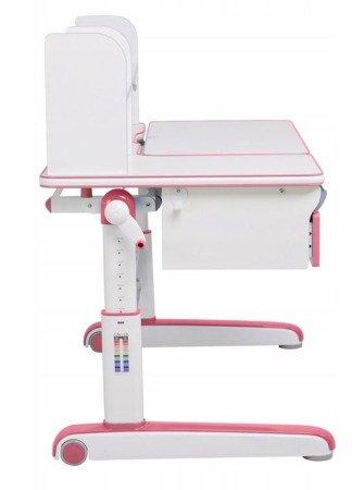 Biurkosa Regulowane biurko dla dziecka ucznia Pink 11976324