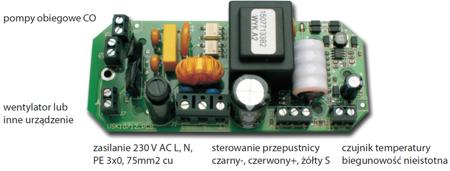 DOSTAWA GRATIS! 30041764 Mikroprocesorowy sterownik kominka z przepustnicą fi 100 glass