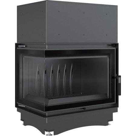 DOSTAWA GRATIS! 30066813 Wkład kominkowy 12kW Zuzia Eco BS Deco (lewa boczna szyba bez szprosa) - spełnia anty-smogowy EkoProjekt