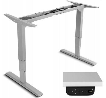 Desko Biurko elektryczne komputerowe Regulacja wysokości (regulowana wysokość: 63 do 125 cm) 17276577