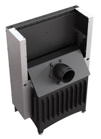 KONS Wkład kominkowy 11kW Zibi Gilotyna (szyba prosta podnoszona do góry) - spełnia anty-smogowy EkoProjekt 30040937