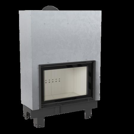 KONS Wkład kominkowy 15kW MBO 15 Gilotyna (szyba prosta, drzwi podnoszone do góry) - spełnia anty-smogowy EkoProjekt 30053245
