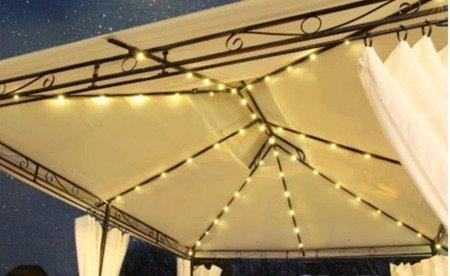 Pawilos Pawilon namiot ogrodowy LED 3x4 scianki moskitiera (wymiary: 3x4x2,5 m) 14276426