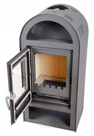 Piec stalowy wolnostojący 7,5-10KW na drewno - spełnia Ekoprojekt 65876562