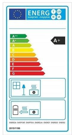 Piec wolnostojący 8kW (kolor: zielony) - spełnia anty-smogowy EkoProjekt 99672983