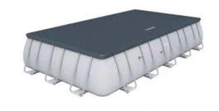 Stalmecha Basen stelażowy (pojemność: 11532 L, wymiary: 488x244x122 cm) 11876343