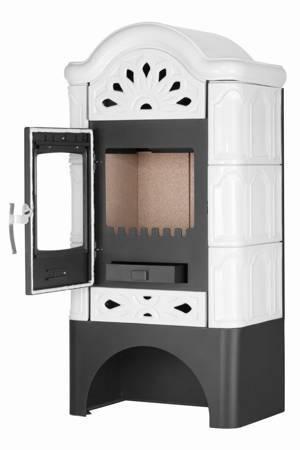 TOPGAR Piec kaflowy 5,7kW krem (średnica wylotu spalin: 150 mm) - spełnia anty-smogowy EkoProjekt 19877514