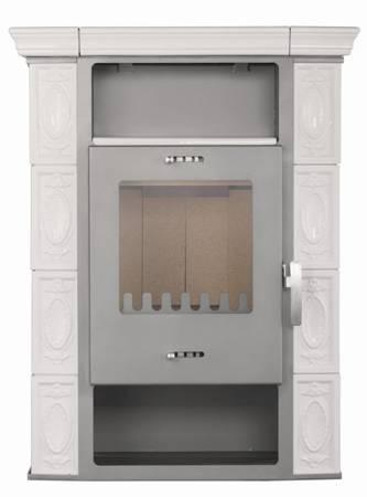 TOPGAR Piec kaflowy 7,2kW krem (średnica wylotu spalin: 150 mm) - spełnia anty-smogowy EkoProjekt 19877516