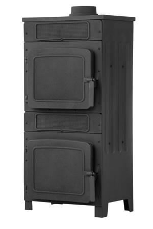 TOPGAR Piec stalowo-żeliwny 6,1kW (średnica wylotu spalin: 120 mm) - spełnia anty-smogowy EkoProjekt 19877480