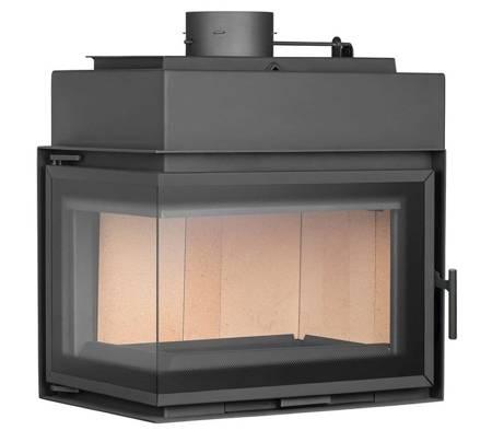 TOPGAR Wkład stalowy 12,6kW (lewa boczna szyba) - spełnia anty-smogowy EkoProjekt 19877526