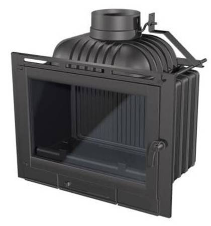 TOPSTOVE Wkład kominkowy 13kW (szyba prosta) - spełnia anty-smogowy EkoProjekt 58477283