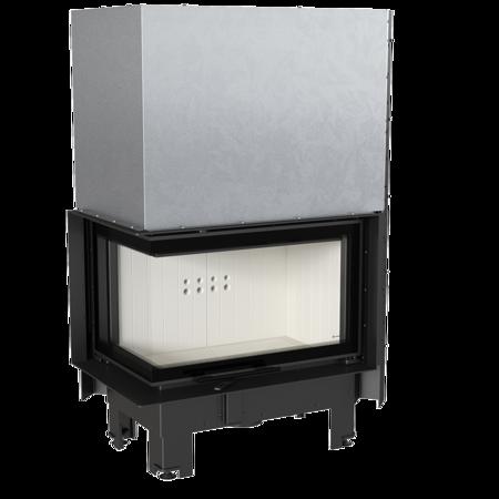 Wkład kominkowy 10kW MBM BS Gilotyna (lewa boczna szyba bez szprosa, drzwi podnoszone) - spełnia anty-smogowy EkoProjekt 30055015