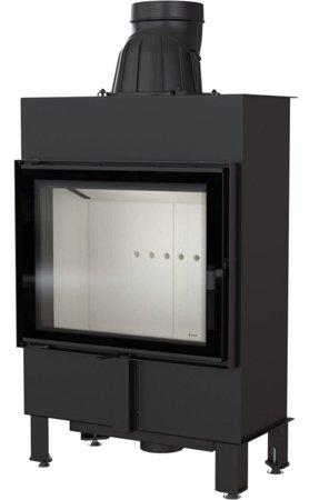 Wkład kominkowy 8kW Lucky Slim (szyba prosta) - spełnia anty-smogowy EkoProjekt 30063868